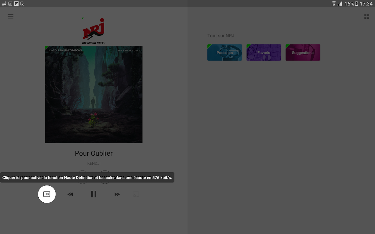 NRJ Radios 4.5.1 Screen 14