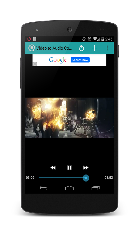 Video to mp3 converter (Free) 1.3.2 Screen 2