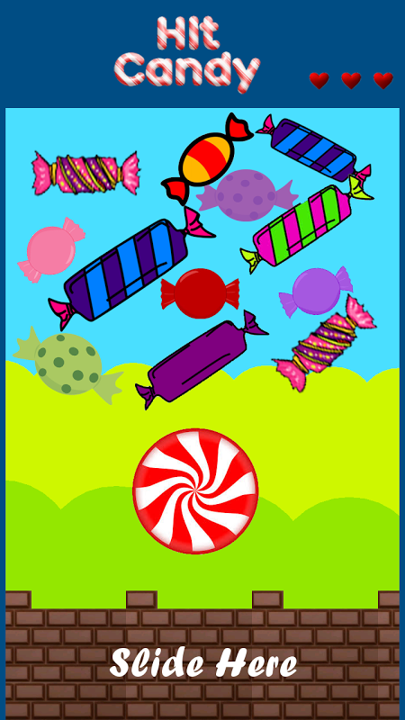 Android Hit Candy Screen 1