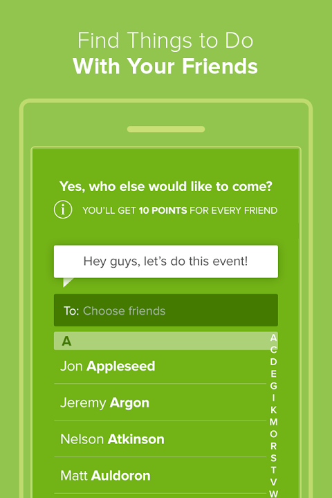 Android Circle - Events, Concerts More Screen 7