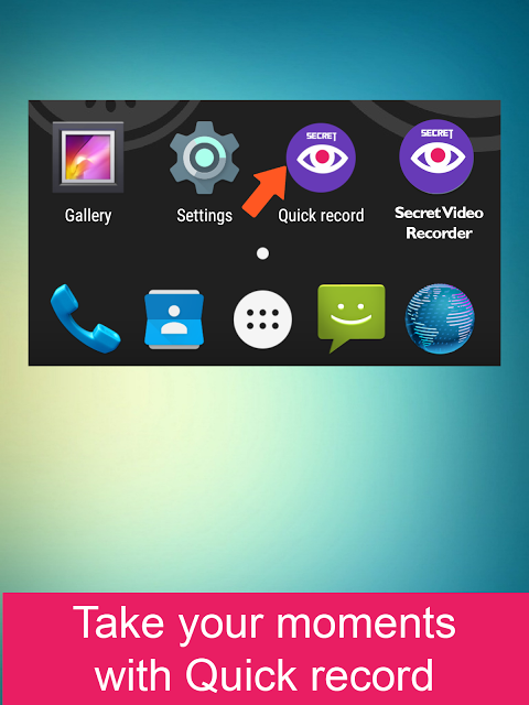 Android Secret Video Recorder Screen 3