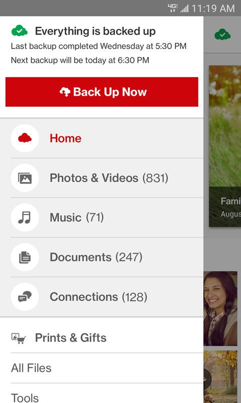 Verizon Cloud 18.6.14 Screen 4