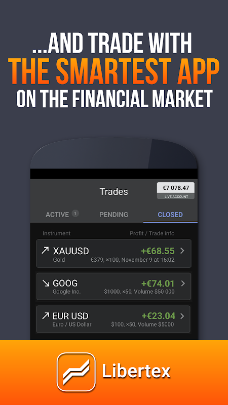 Libertex Online Trading app 2.17.1 Screen 4