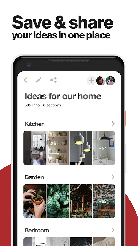 Android Pinterest: Creative Ideas & Lifestyle Inspiration Screen 4