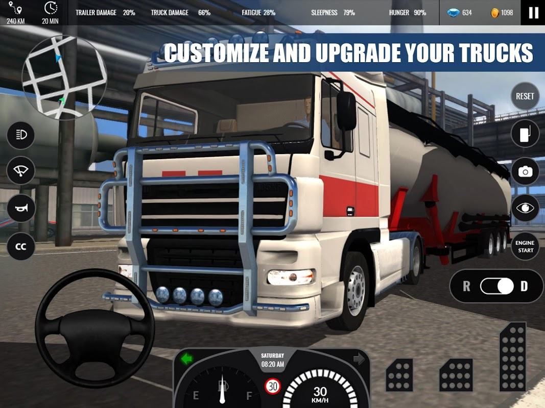 Truck Simulator PRO Europe 1.0 Screen 8