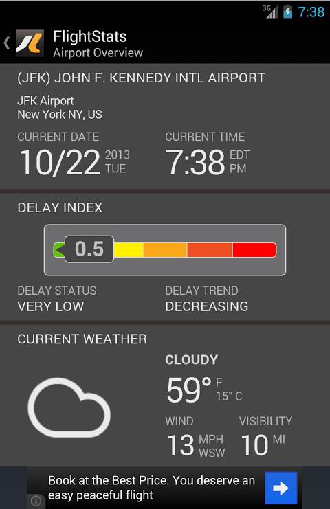 FlightStats 2.0.5 Screen 3