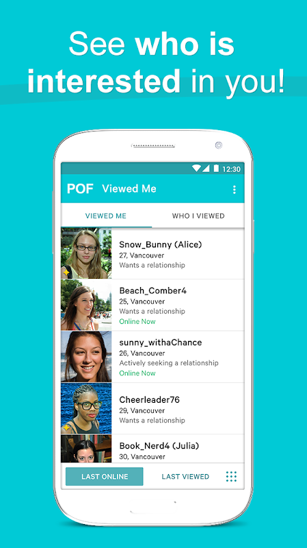 POF Free Dating App 3.95.1.1419017 Screen 6