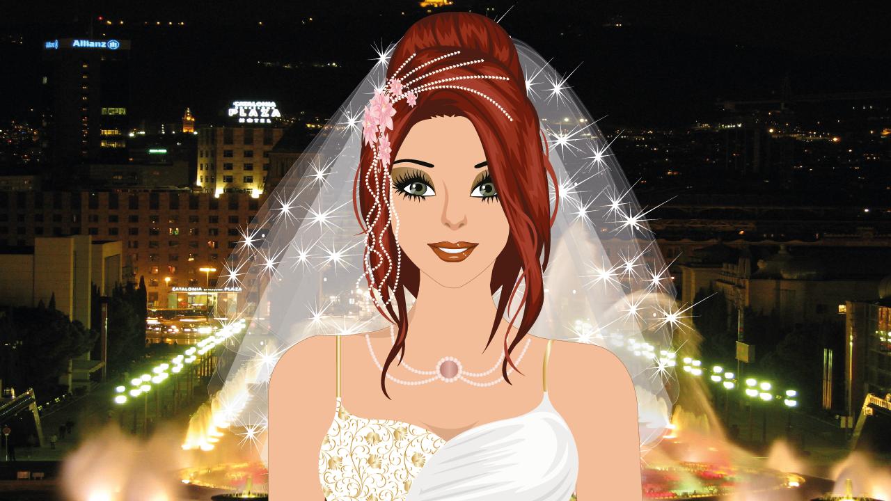 Android Barcelona Wedding Makeup Game Screen 4
