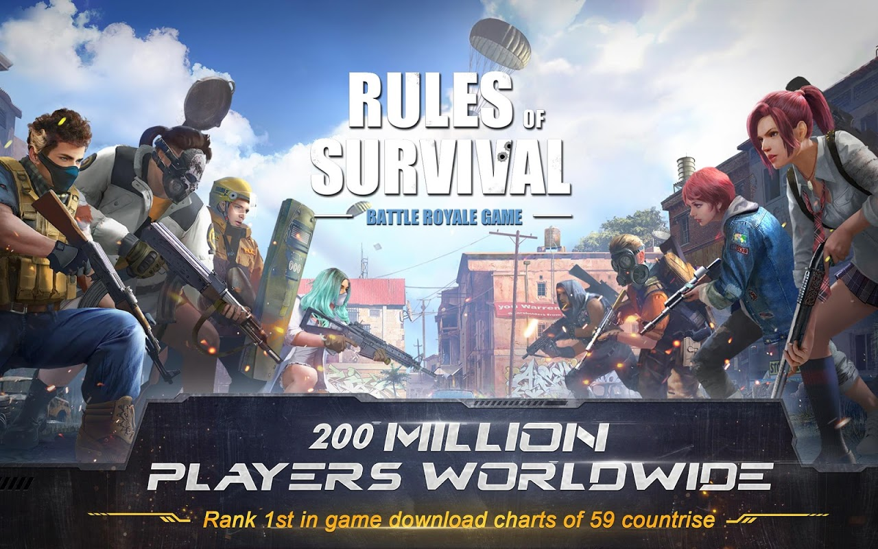 Android RULES OF SURVIVAL Screen 9