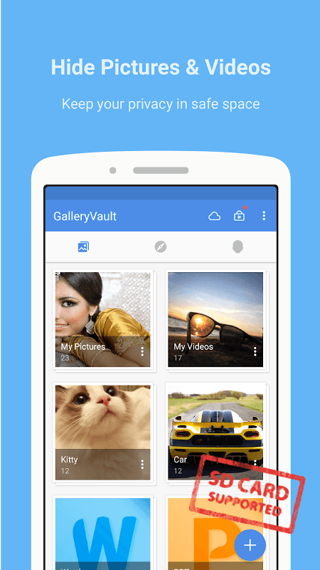 GalleryVault Pro Key - Hide Pictures And Videos 3.0.0 Screen 2