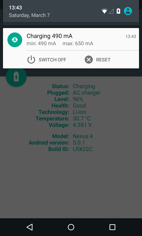 Android Ampere Screen 4