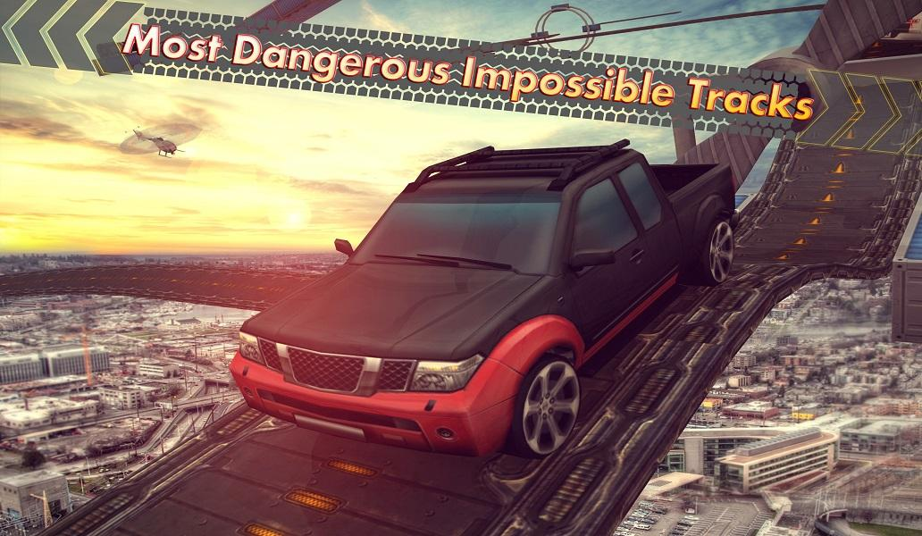 Android Extreme Car Racing Trick Stunts Impossible Tracks Screen 4