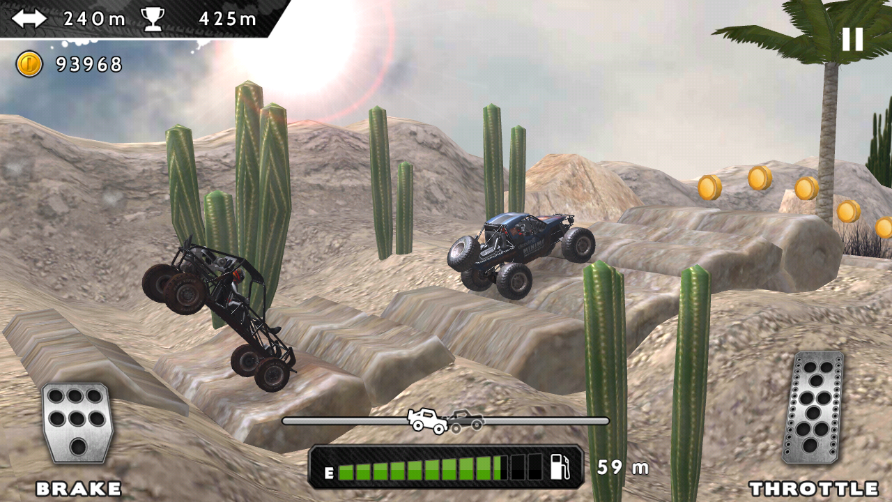 Android Extreme Racing Adventure Screen 5
