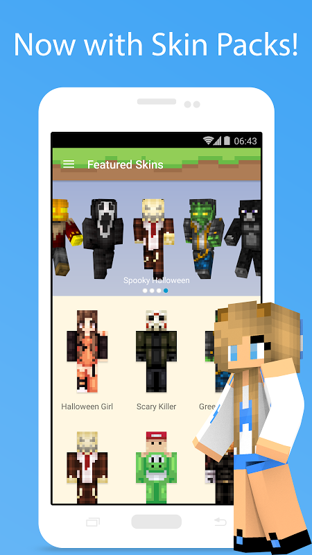 MCPE Skin Studio 4.0.1 Screen 1
