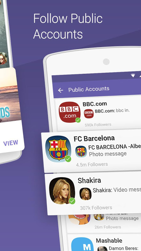 Android Viber Messenger Screen 8