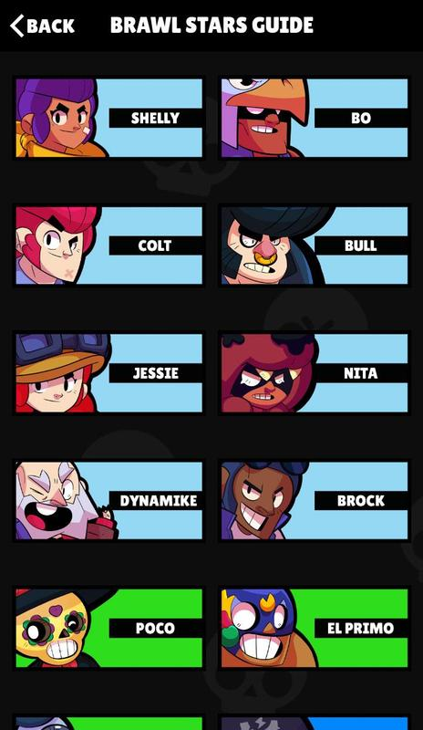 Android Brawl Stars Guide Screen 1