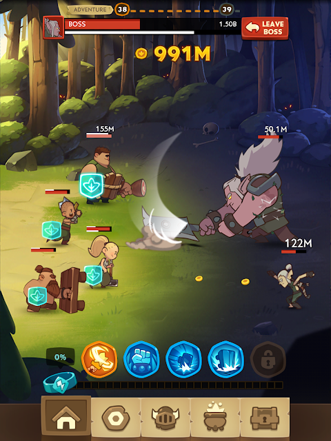 Almost a Hero - Idle RPG 2.7.0 Screen 3