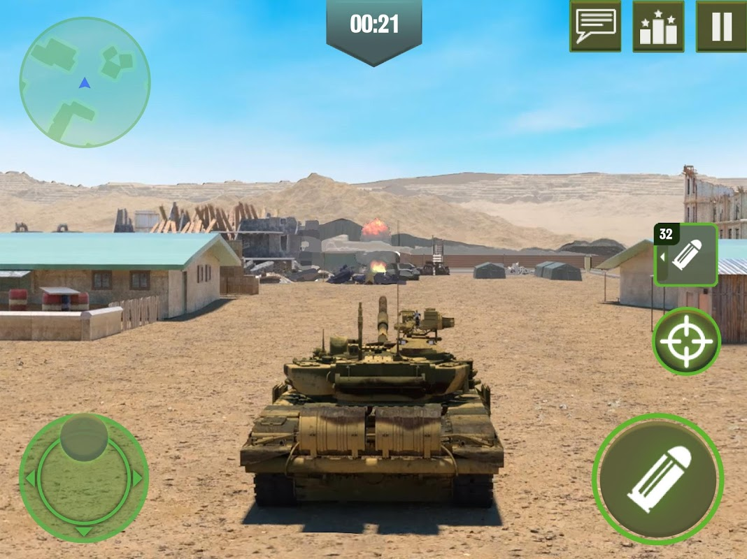 War Machines: Blitz Force - Free 3D Tank Games 3.9.0 Screen 3