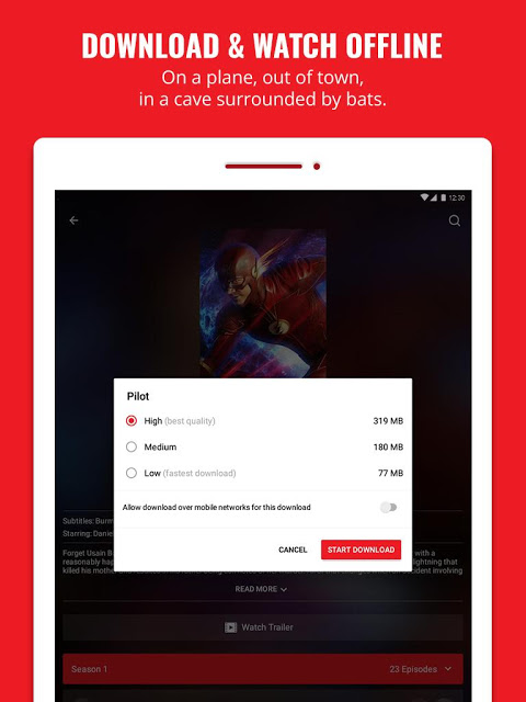 Android iflix Screen 5