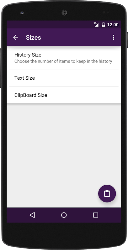 Native Clipboard 4.8.1 Screen 8