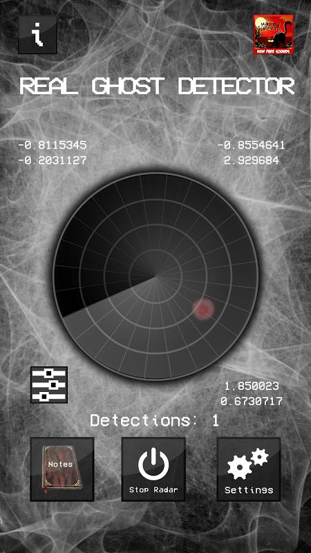 Real Ghost Detector - Radar 1.5.8 Screen 2