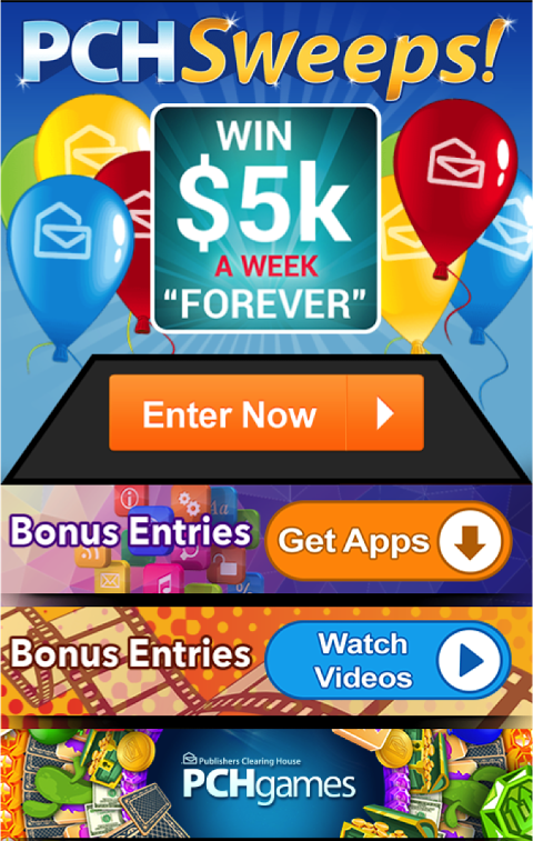 The PCH App 1 35 3 APK Download by Publishers Clearing House