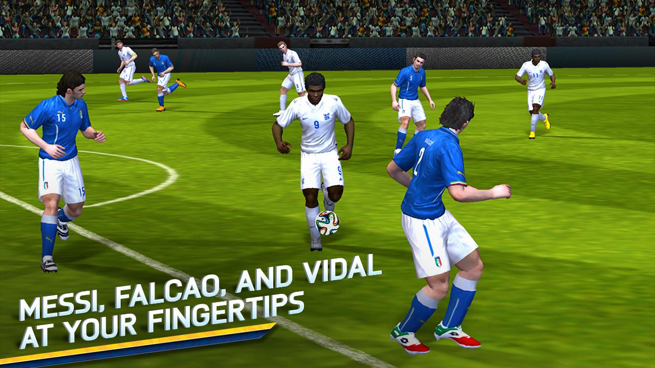 Android FIFA 14 International Screen 5