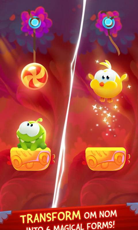 Cut the Rope: Magic 1.1.1 Screen 1