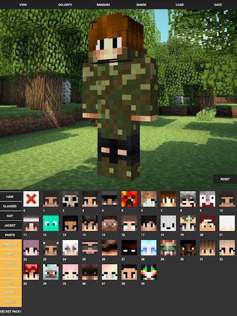 Custom Skin Creator For Minecraft 5.6 Screen 10