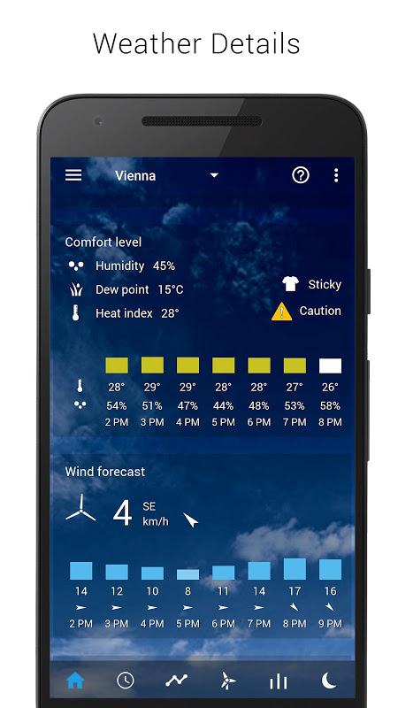 Android Transparent clock weather Premium Screen 8
