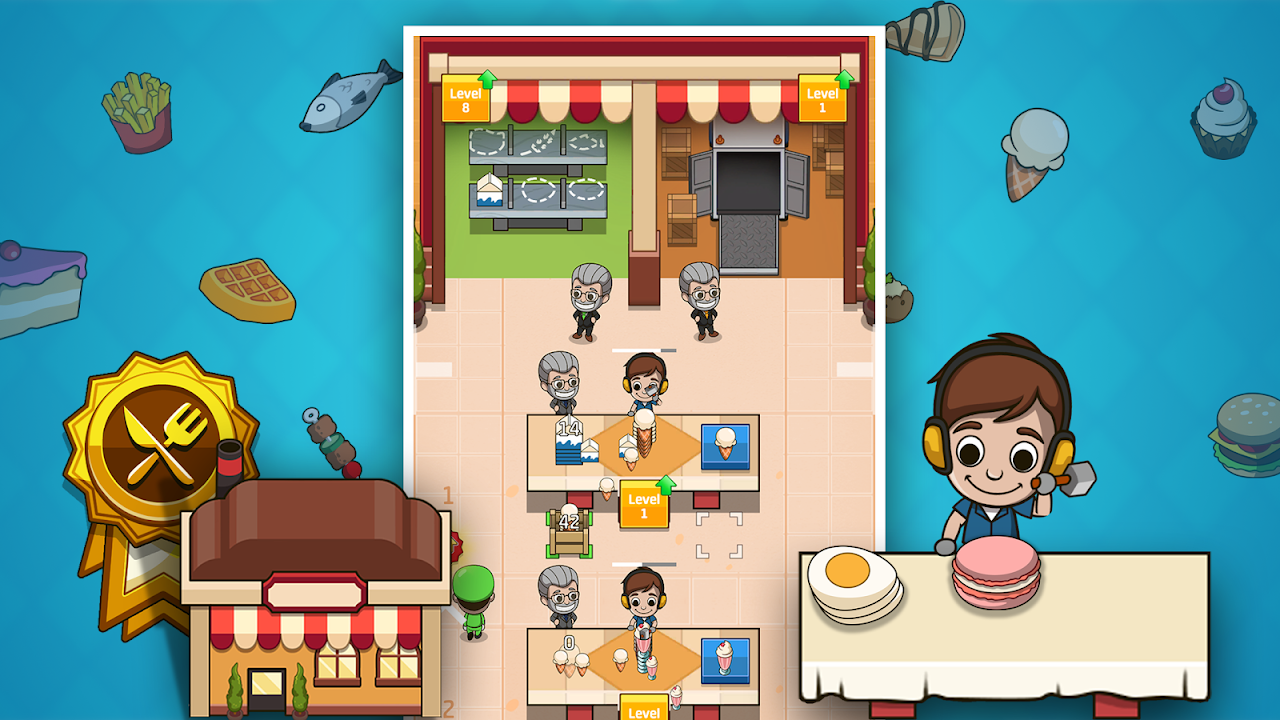 Android Idle Factory Tycoon Screen 5