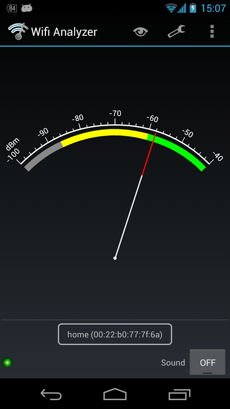 Wifi Analyzer 3.4 Screen 2
