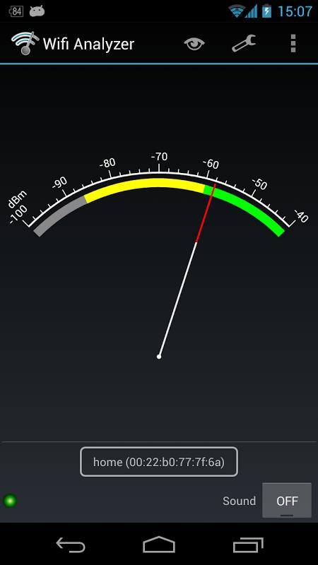 Wifi Analyzer 3.5 Screen 2