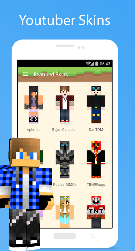 MCPE Skin Studio 4.0.1 Screen 6