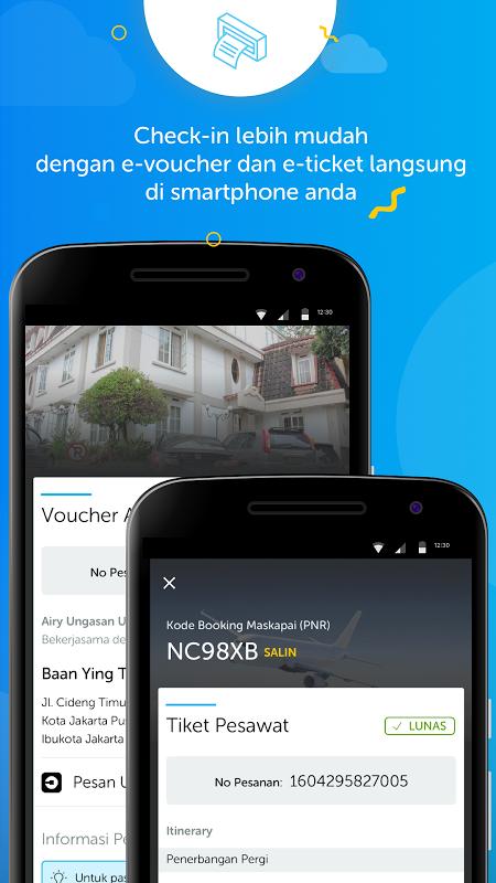 Android Airy - Tiket Pesawat & Hotel Murah Screen 4