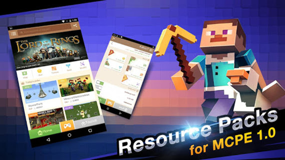 Android Master for Minecraft- Launcher Screen 1