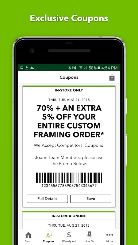 JOANN - Crafts & Coupons 6.0.9 Screen 3