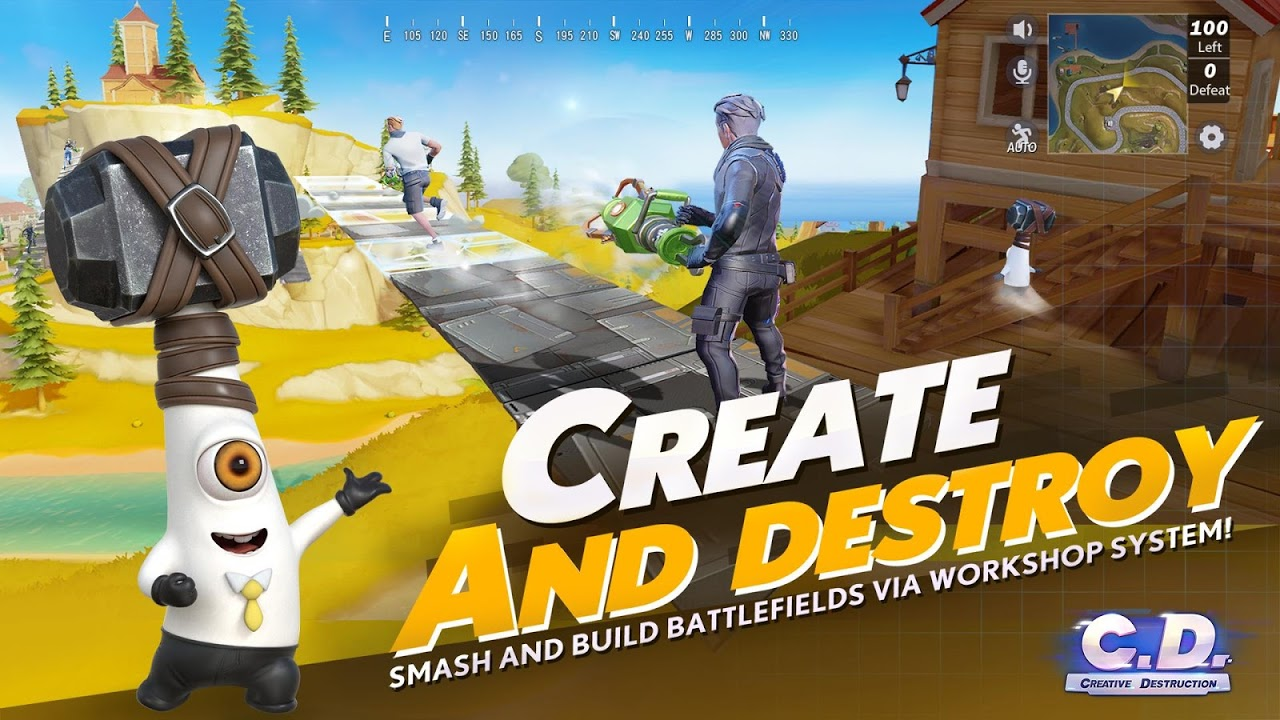 Android Creative Destruction Screen 3