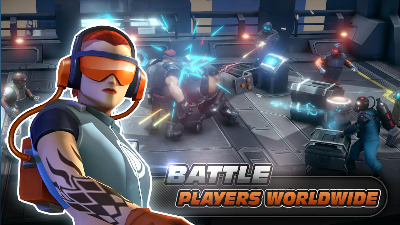 Alpha Squad 5: RPG & PvP Online Battle Arena 1.5.51 Screen 12