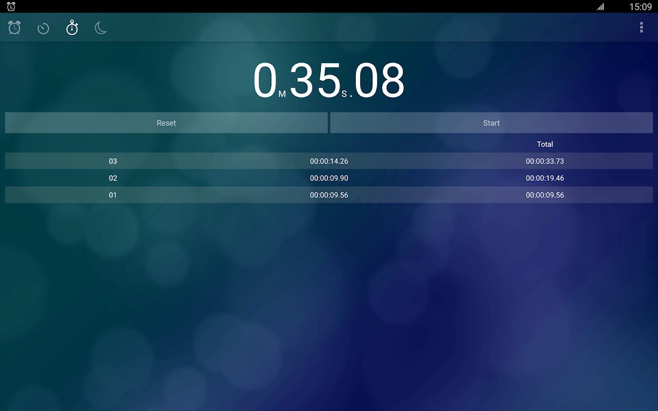 Alarm Clock: Stopwatch & Timer 6.1.0 Screen 6