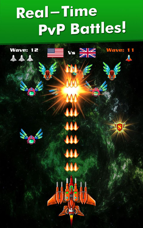 Galaxy Attack: Alien Shooter 6.43 Screen 8