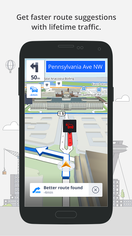 GPS Navigation & Maps Sygic 17.0.7 Screen 2