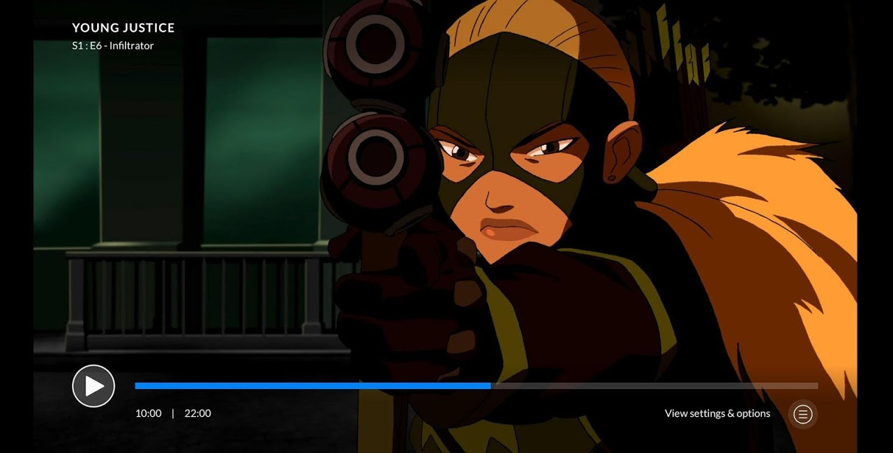 Android DC Universe - Android TV Screen 4