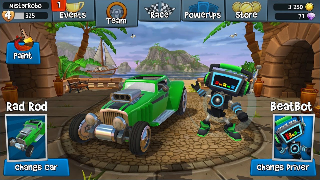 Android Beach Buggy Racing 2 Screen 3