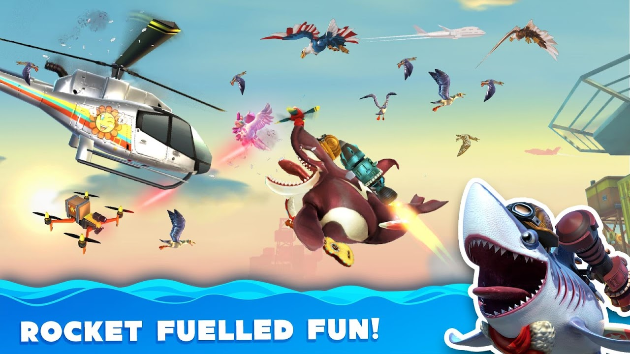 Android Hungry Shark World Screen 8