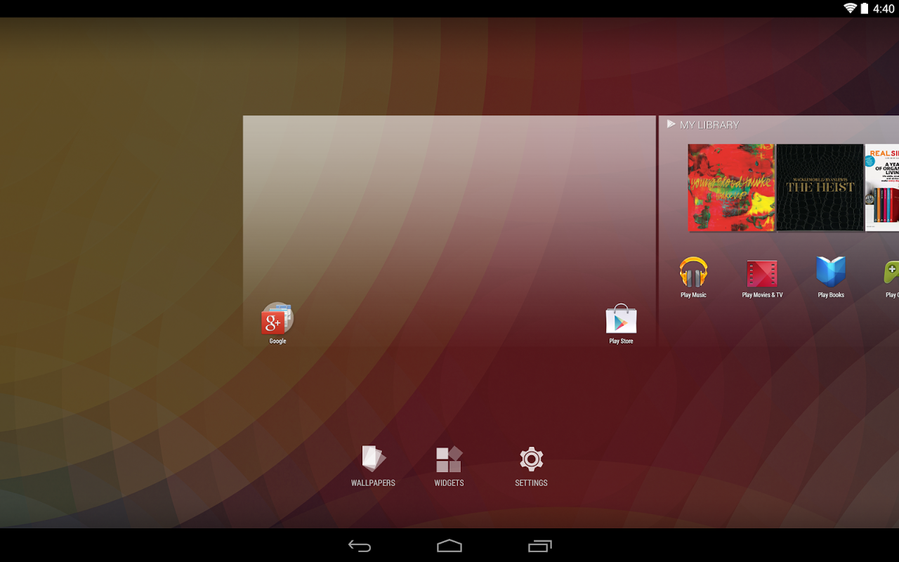 Google Now Launcher 1.4.large Screen 5