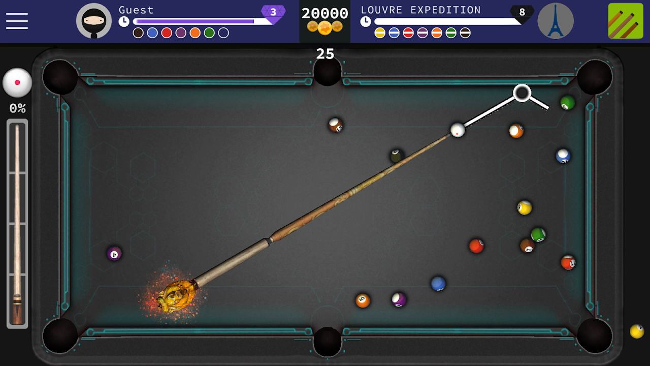 Pool Ninja : 8 ball pool 0.8.22c Screen 2