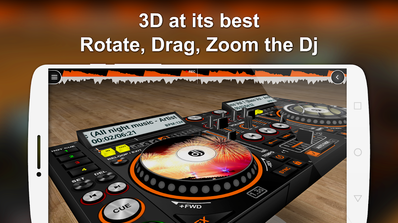 DiscDj 3D Music Player - Dj Mixer v4.005s Screen 6