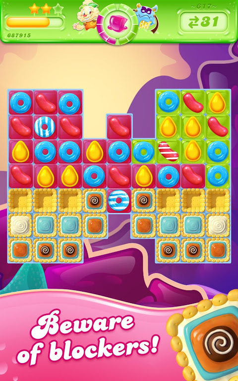 Android Candy Crush Jelly Saga Screen 8