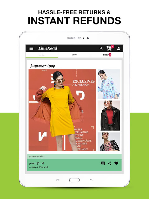 LimeRoad Online Shopping App 5.5.8 Screen 6